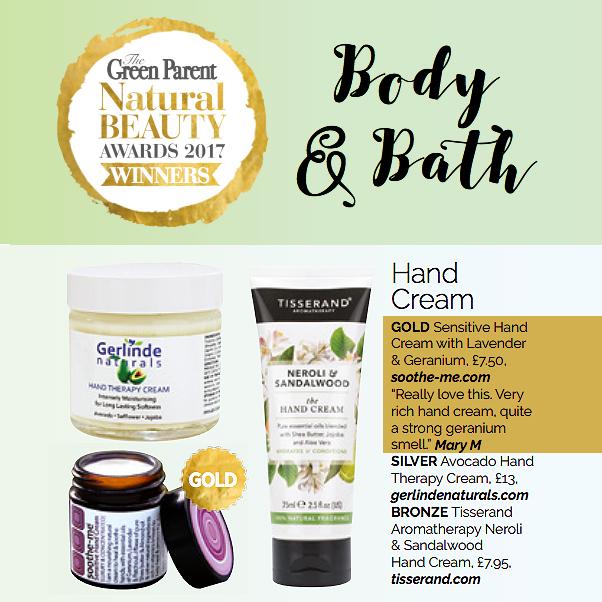 Beauty award winning hand cream for dry skin