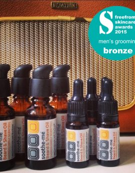 Award winning beard oil vintage radio