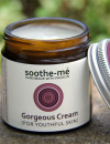 face cream with rose and frankincense