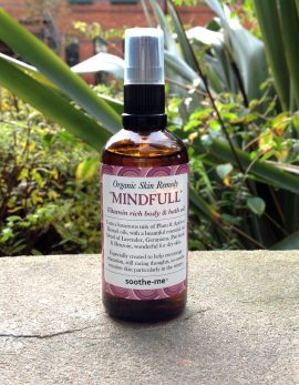 Mindful organic body oil