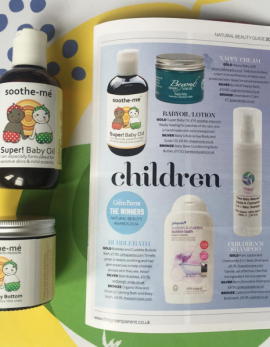 Award winning baby skincare