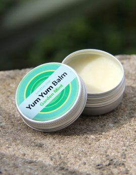 Vegan mint SPF10 lip balm