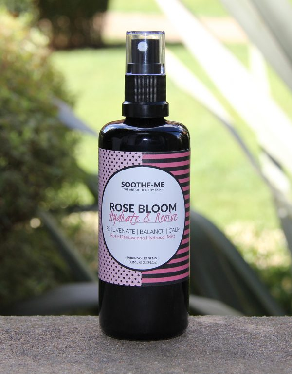 Rose hydrosol water face mist