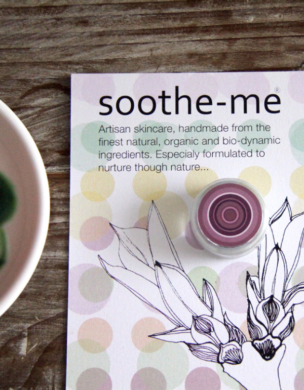soothe-me skincare samples