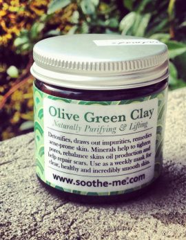 Olive Green Clay for acne