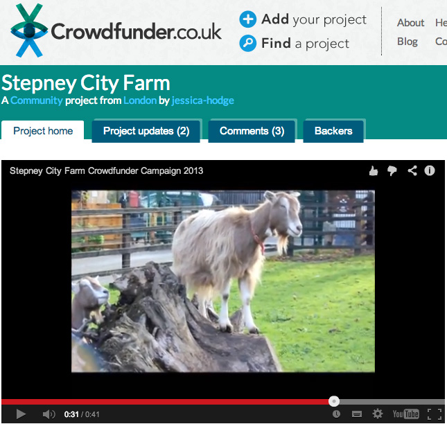 funding stepney city farm