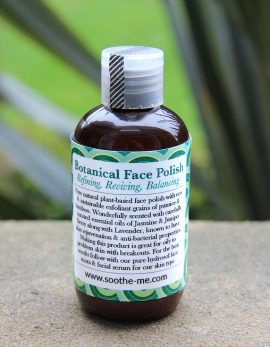 Plant based face polish free from micro beads