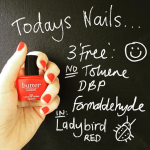 Butter London Ladybird red nail polish