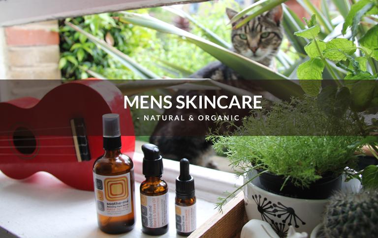 Organic mens skincare