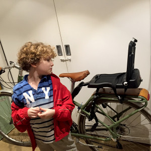 Bobike junior seat open