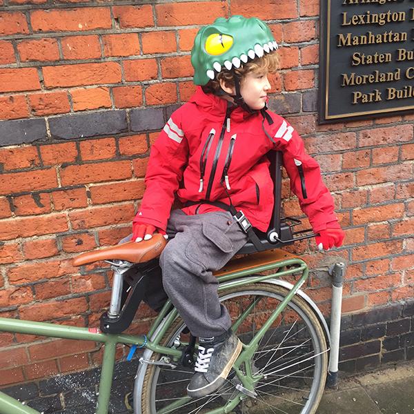 Bike seat for older children