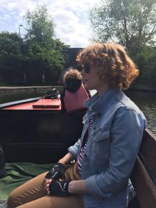 Family narrow boat rides Hackney