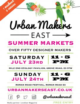 Urban makers east summer 2016