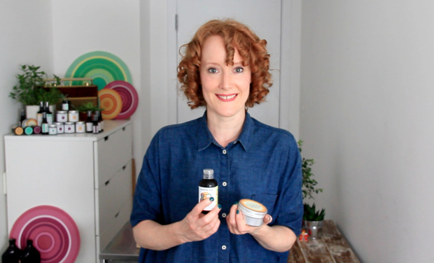 Suzie of soothe-me artisan skincare east london