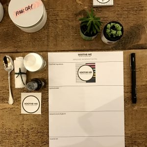 Skincare workshop notes