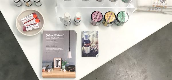 soothe-me skincare at Urban Makers popup shop Hackney