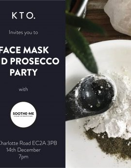 face mask & prosecco, know the origin