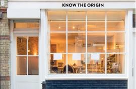 Know the origin popup shop shorditch