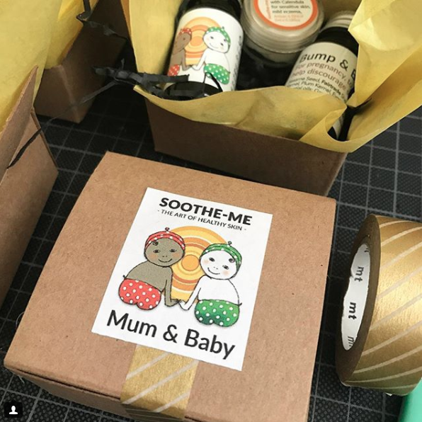 mum and baby mini gift box