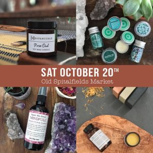 Old Spitalfields Market, soothe-me Skincare