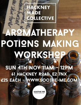 Aromatherapy potions making workshop