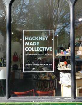 Hackney made collective shop E1